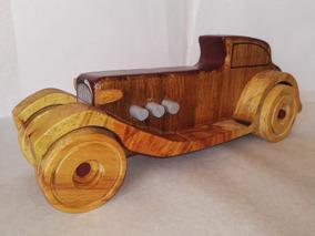Carro Juguete Artesanal De Antiguo Madera 54ALjRc3q