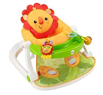 juguete asiento de fisher-price sit-me-up piso con bandeja