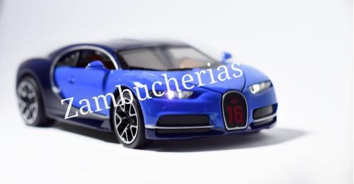 .juguete autos a escala bugatti chiron
