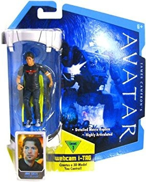 juguete avatar de james cameron película 3 3/4 pulgadas rda