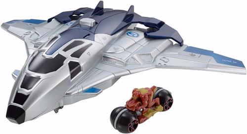 juguete  avengers era de ultron hotwheels lanzador de motos