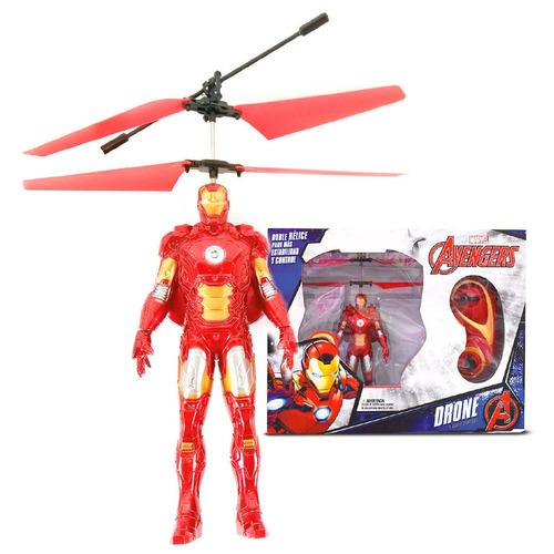 juguete avengers mrl301 flying drone ironman