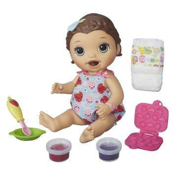 juguete baby alive super snacks snackin 'lily morena