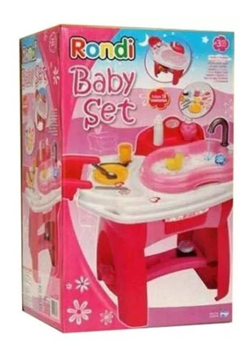 juguete bañera para muñecas baby set rondi babymovil cuotas