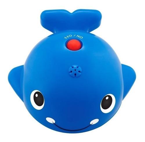 juguete baño bebé chicco ballena nada y salpica