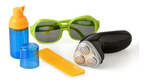 juguete barberia peluqueria peine afeitadora juego niños