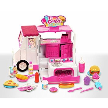 juguete barbie cami n de la comida en mercado libre. Black Bedroom Furniture Sets. Home Design Ideas
