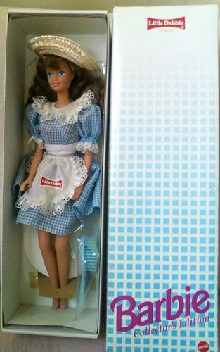 juguete barbie edicion coleccion  little debbie'