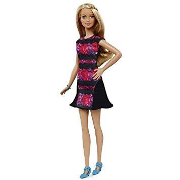 juguete barbie fashionistas muñeca 28 floral del instinto -