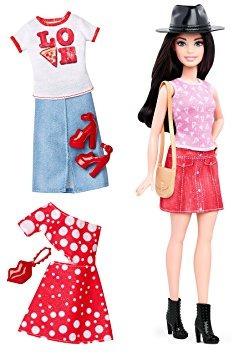 juguete barbie fashionistas muñeca