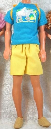 juguete barbie ken animal loving safari