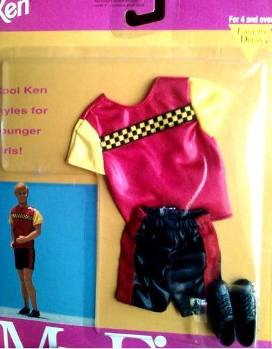 juguete barbie ken vestimenta my first