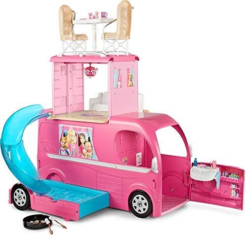 Pop Vehicleamazon Barbie Juguete Up Camper Exclusive mN8wn0
