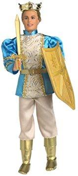 juguete barbie rapunzel ken como príncipe stefan