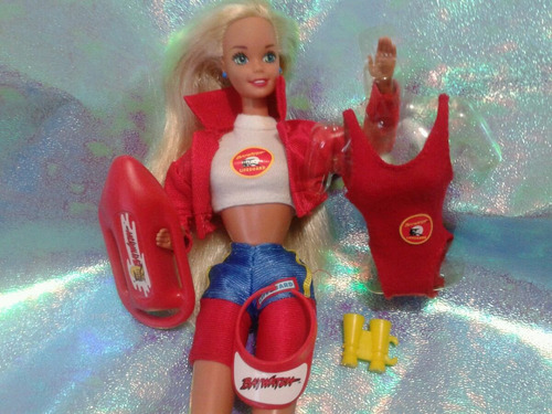 juguete barbie salvavidas baywatch