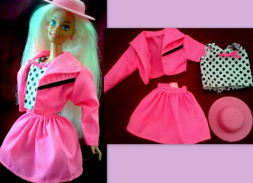 juguete barbie vestimenta soft breeze