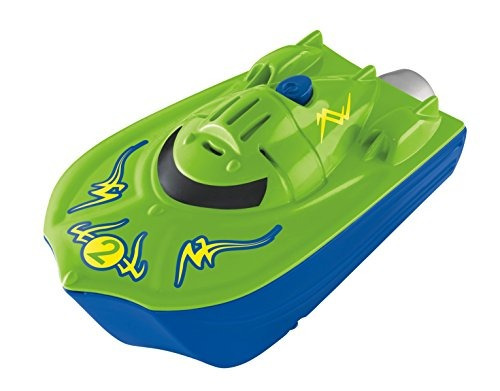 juguete barco fisher-price shake n go! verde