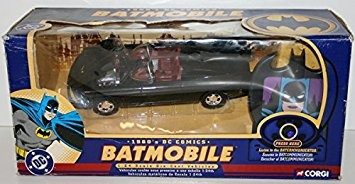 juguete batmobile corgi de 1960 con bat hablar communicator