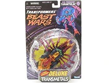 juguete beast wars transmetals tarantulas transfomers