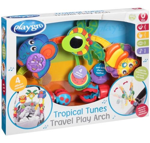 juguete bebe arco de juegos para cochecito huevito playgro
