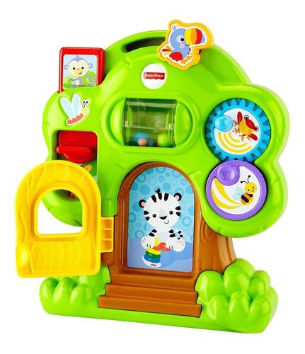 juguete bebe casa arbol actividades animales fisher price