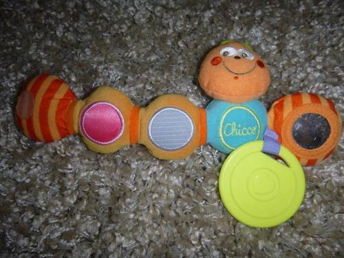 juguete bebe chicco gusanito de colores importado