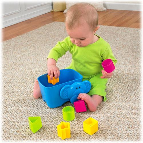 juguete bebe encastre fisher price w3113 elefante babymovil