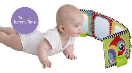 juguete bebé espejo libro didáctico convertible playgro