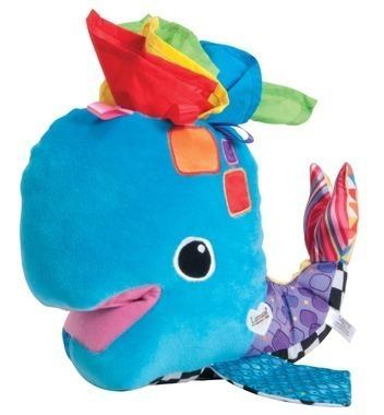juguete bebe estimulación franky la ballena lamaze