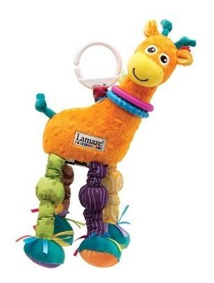 juguete bebe estimulación jirafa p&g lamaze