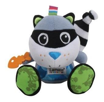 juguete bebe estimulación mapache knottie lamaze