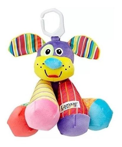 juguete bebe estimulación perrito musical lamaze