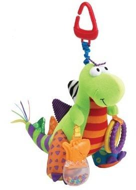 juguete bebe estimulación spike el dinosaurio lamaze