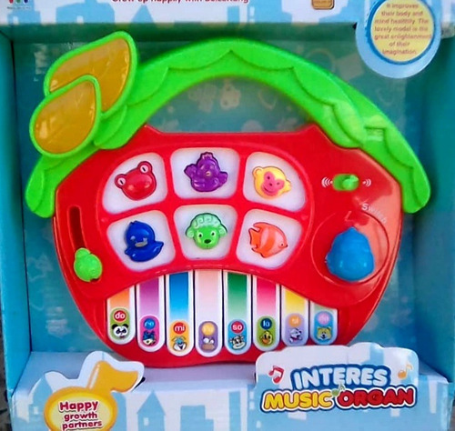 juguete bebe piano musical sonido didactico niño sonajero
