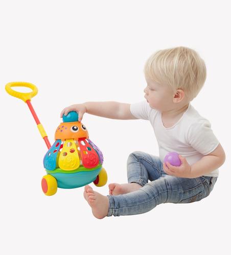 juguete bebe pulpo popping octopus playgro