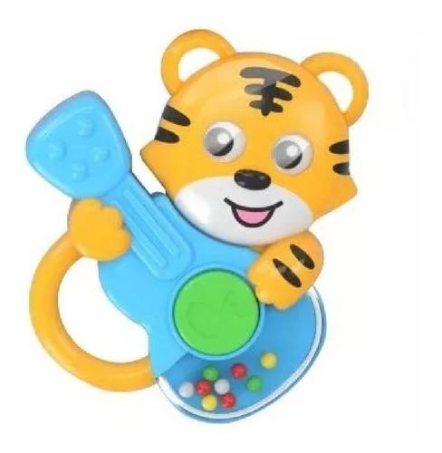 juguete bebe sonajero tigre guitarra babymovil