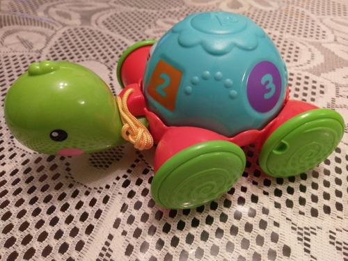 juguete bebe tortuga aprendizaje