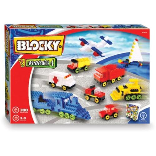 juguete blocky 01-0603 vehiculos 380 piezas
