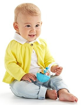 juguete bola de fisher-price roly poly chime