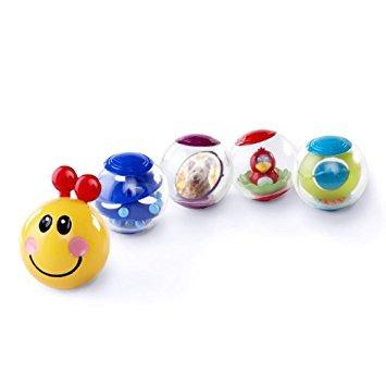 juguete bolas pilar actividad baby einstein rollar