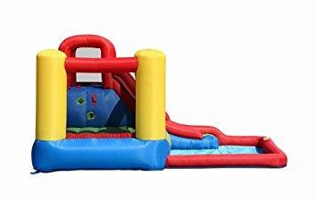 juguete bounceland salto y splash casa de la despedida de l