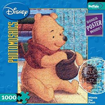 juguete buffalo juegos de disney fotomosaíco winnie the poo