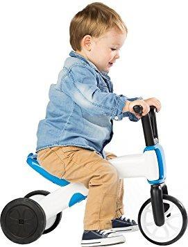 juguete bunzi chillafish 2-en-1 gradual bicicleta de equili