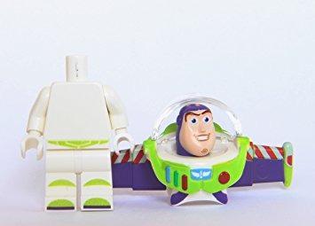juguete buzz lightyear - lego toy story minifigure (torso v