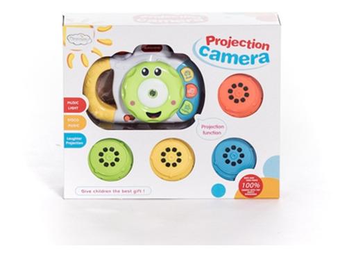 juguete camara de fotos y proyector luces musica  +3años