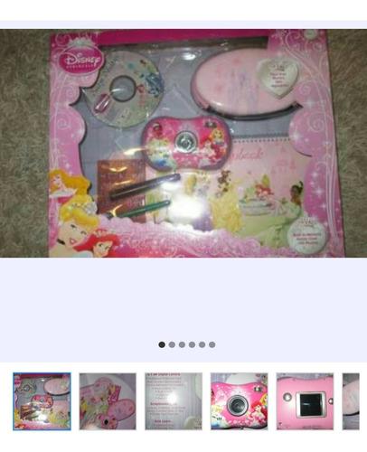 juguete cámara de princesa con pantalla