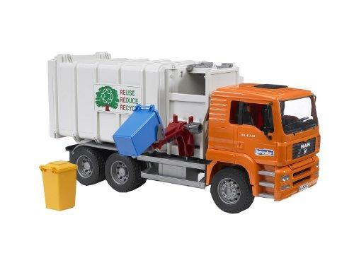juguete camión de basura bruder toys
