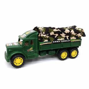 26cm Militar Group Camion Army Nva Cba Juguete Local 3ARqS54cjL