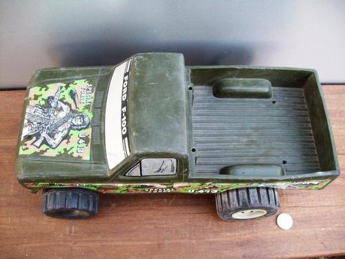 juguete camioneta antiguo