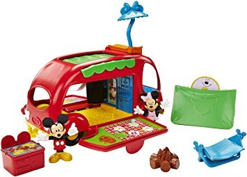juguete camper fisher-price disney mickey mouse cruisin '